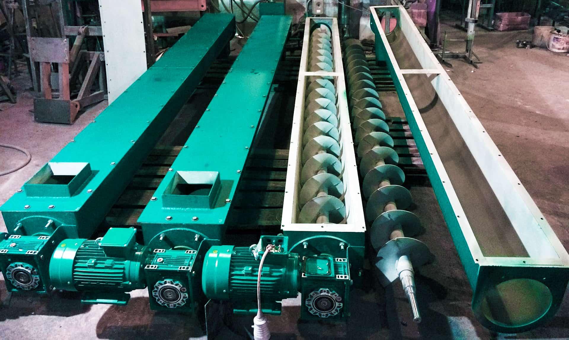 Производительность винтовых транспортеров элеваторы водоструйные стальные