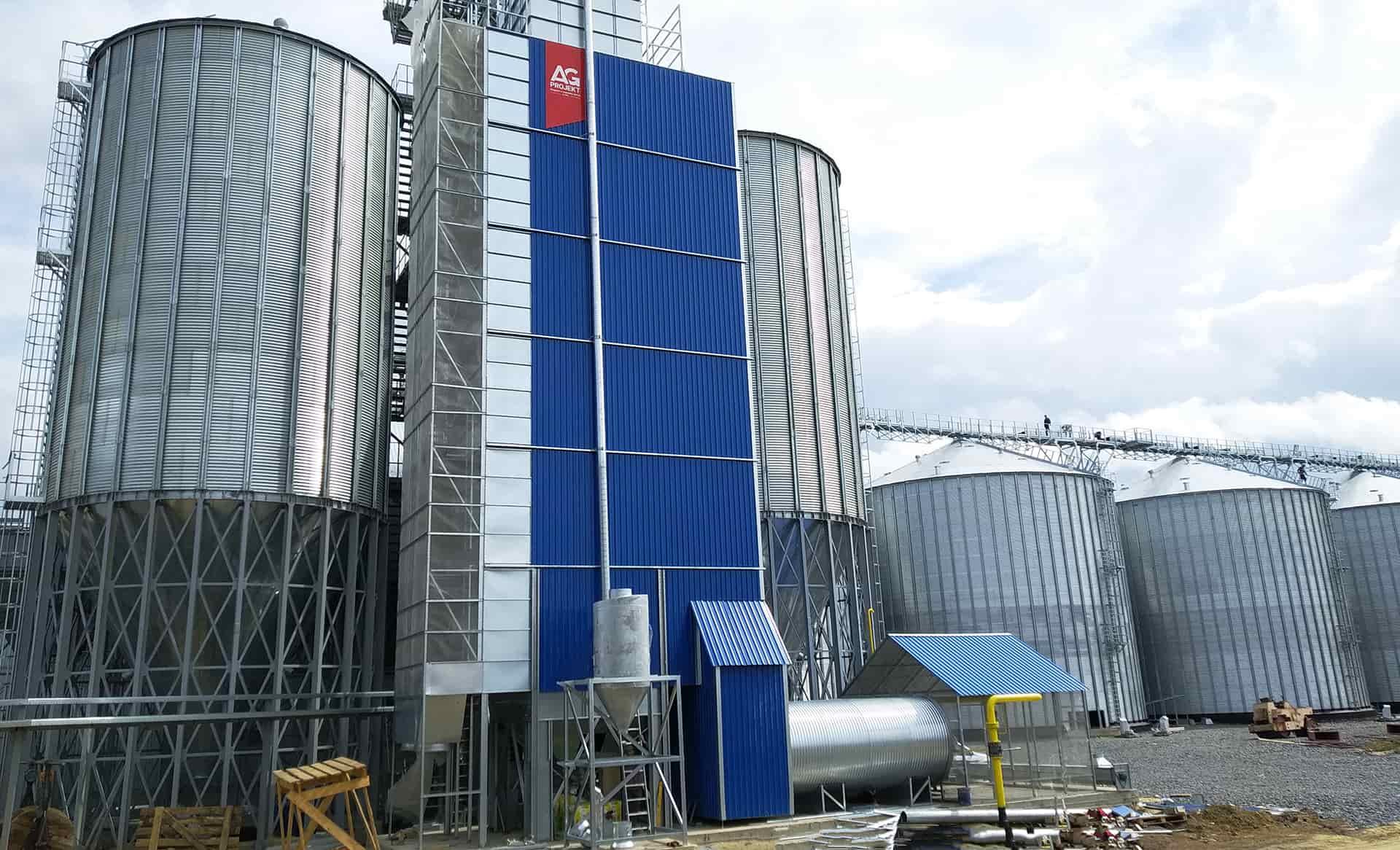 оборудование для сушки зерна на элеваторах
