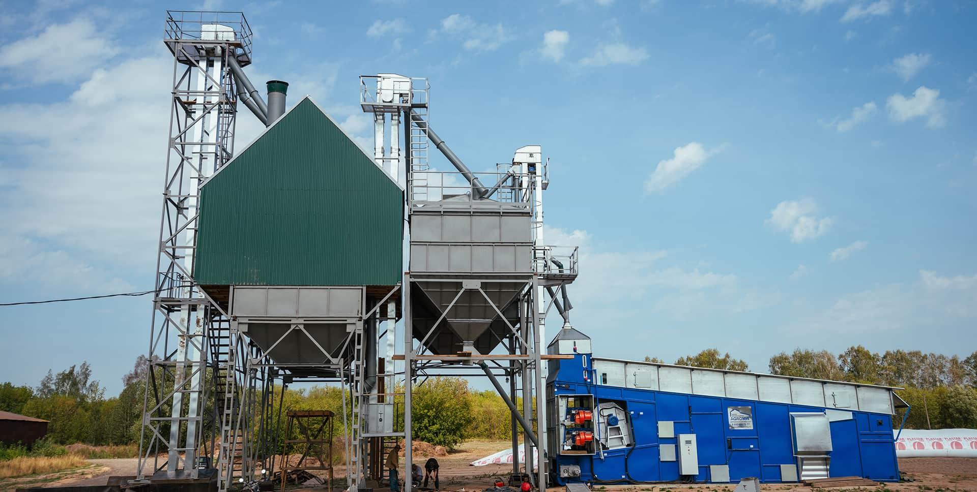 сушка зерна на элеваторе технология
