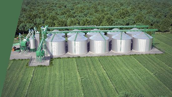 Что такое зернохранилище?
